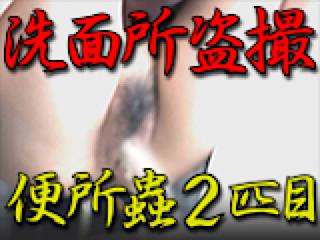 巨乳 乳首:洗面所盗SATU BEN所蟲リターンズ2匹目:パイパンマンコ