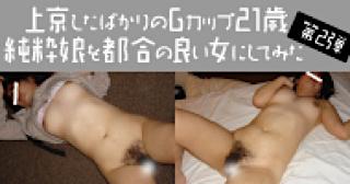 巨乳 乳首:★Gカップ21歳純粋娘:マンコ無毛