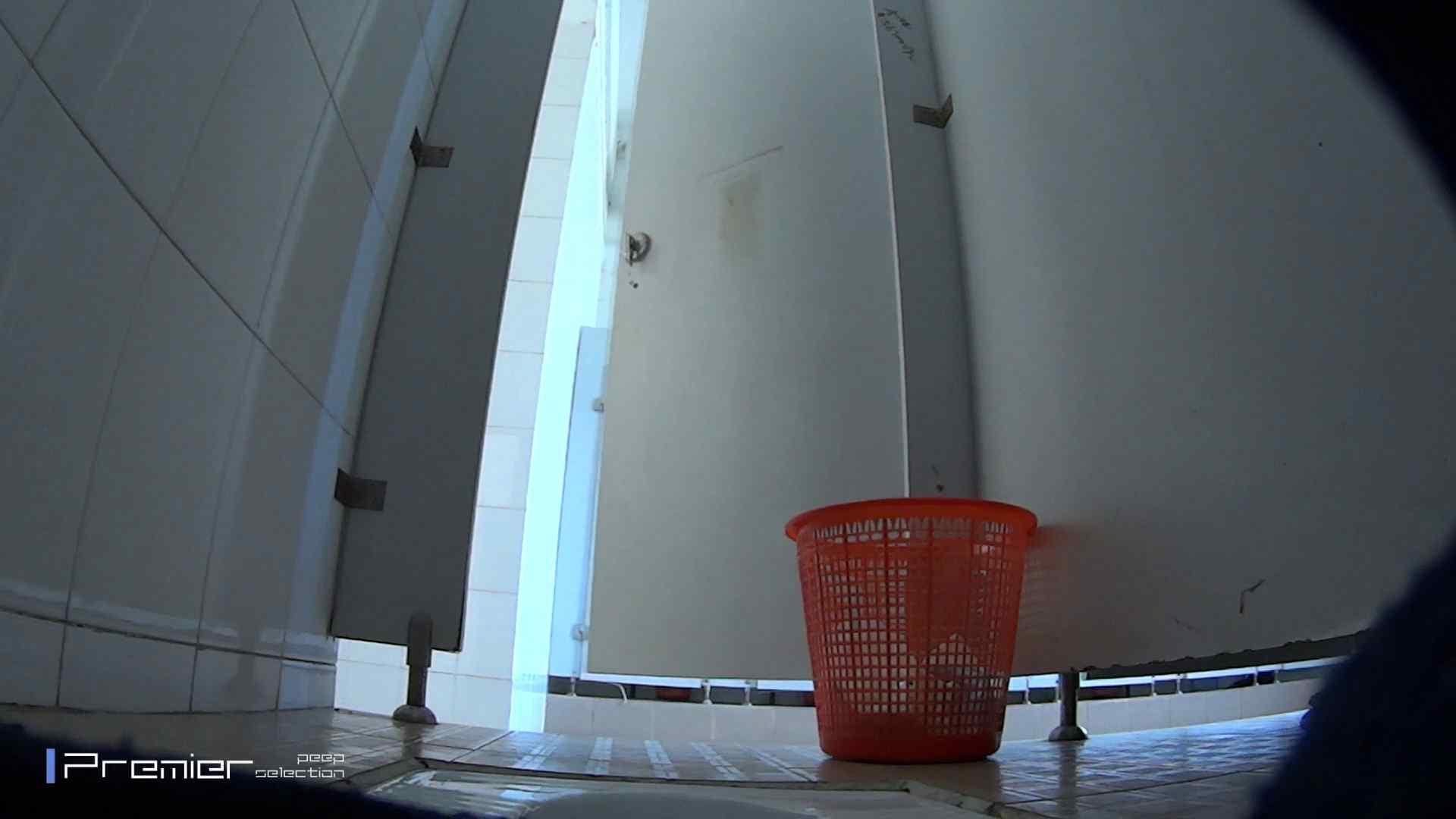 しゃがみながらお尻をクイっ!有名大学休憩時間の洗面所事情10 洗面所 覗き性交動画流出 43pic 19
