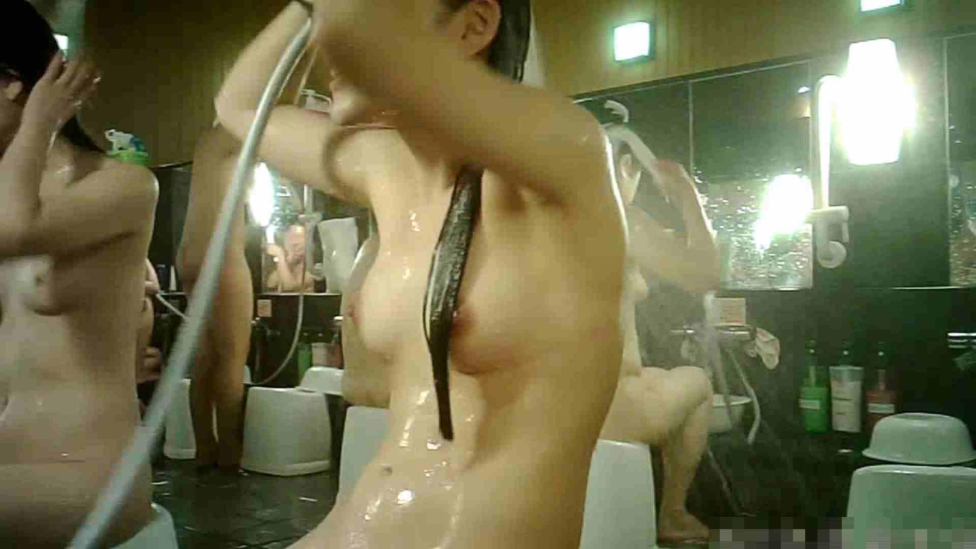 No.3 洗い場!!手前の嬢、特徴的な顔とコンパクトなおっぱい。 銭湯 | おっぱい特集  88pic 25