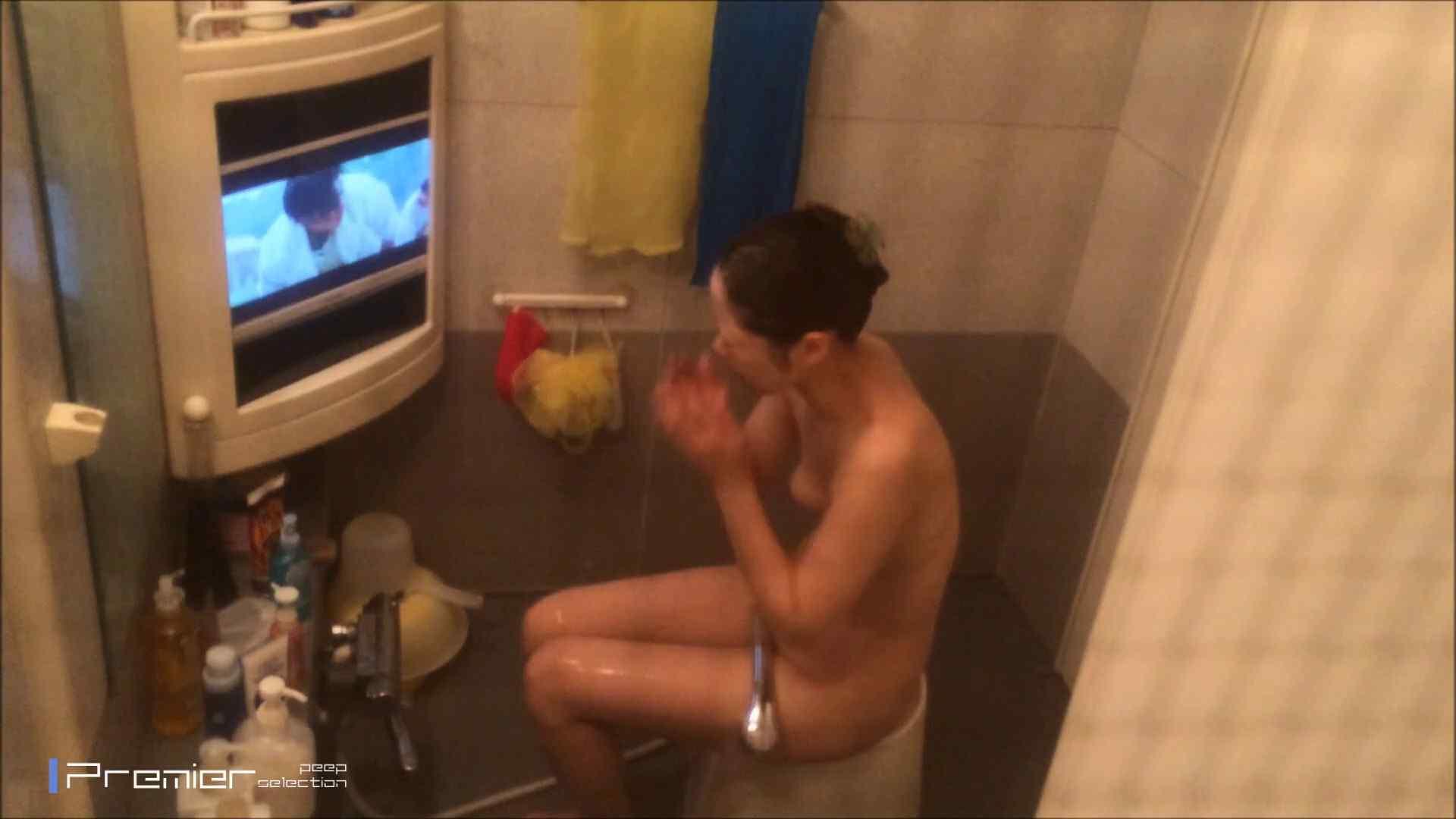 美女のテレビを見ながらの入浴 乙女の風呂場 Vol.21 盗撮  30pic 6