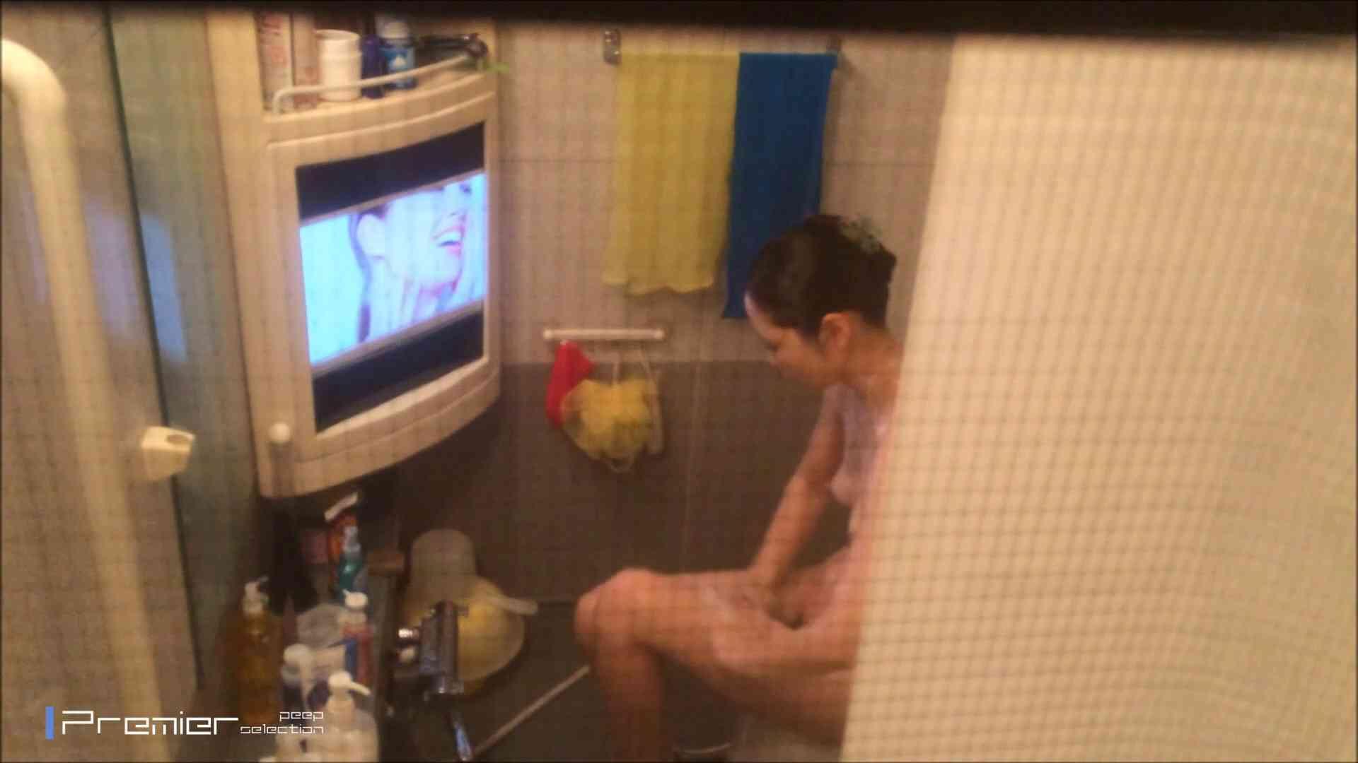 美女のテレビを見ながらの入浴 乙女の風呂場 Vol.21 美女 隠し撮りセックス画像 30pic 21