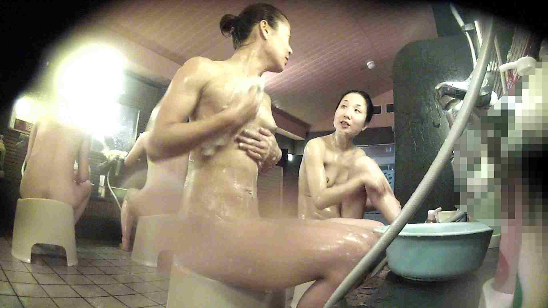 洗い場!対照的な二人!手前の美人さんは若い時遊んでましたね 潜入 盗撮えろ無修正画像 92pic 26