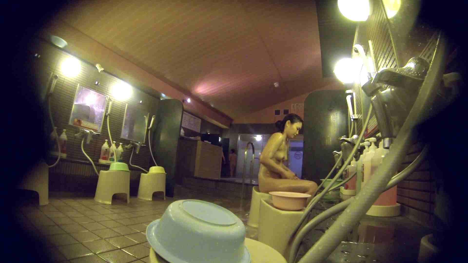 洗い場!スタイル抜群で柔らかそうに揺れるオッパイ 潜入   銭湯  85pic 17