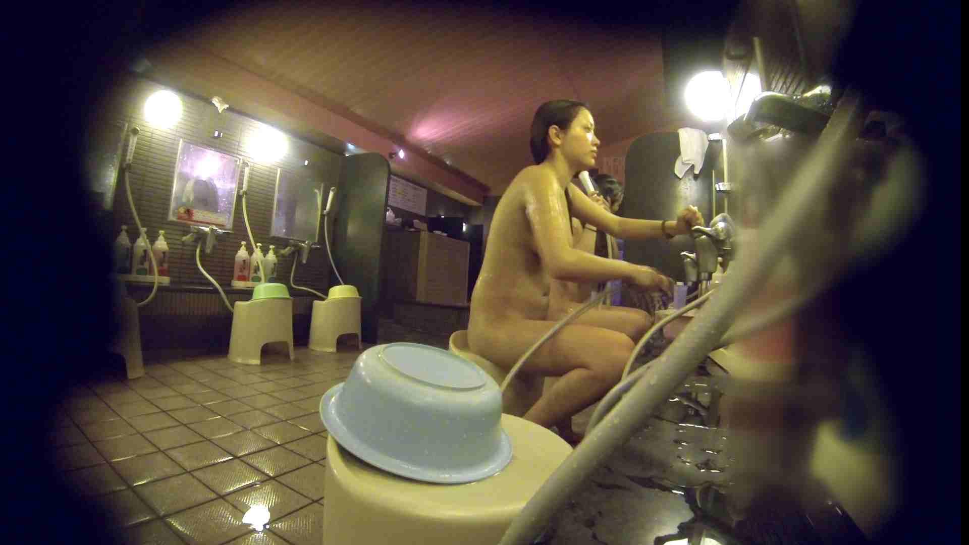 洗い場!スタイル抜群で柔らかそうに揺れるオッパイ 潜入   銭湯  85pic 27