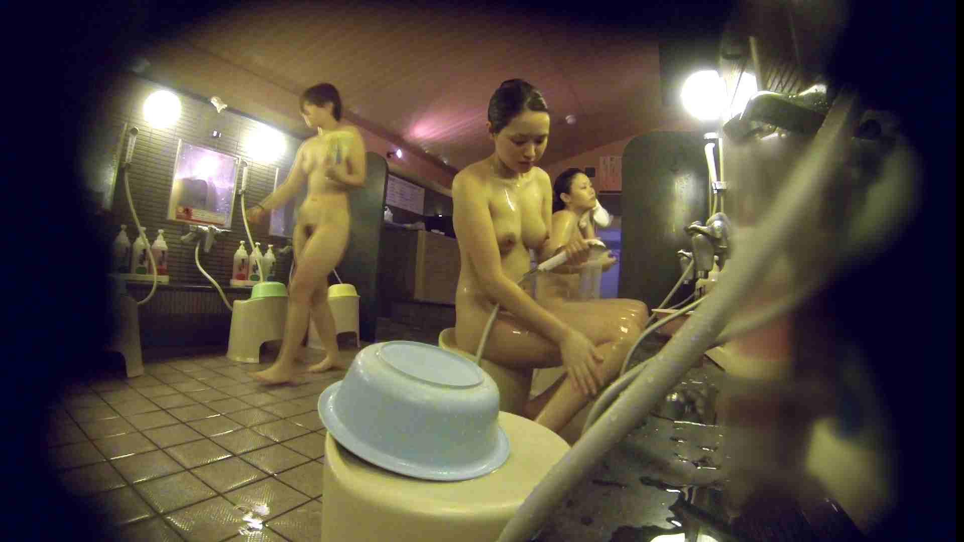 洗い場!スタイル抜群で柔らかそうに揺れるオッパイ 潜入   銭湯  85pic 77