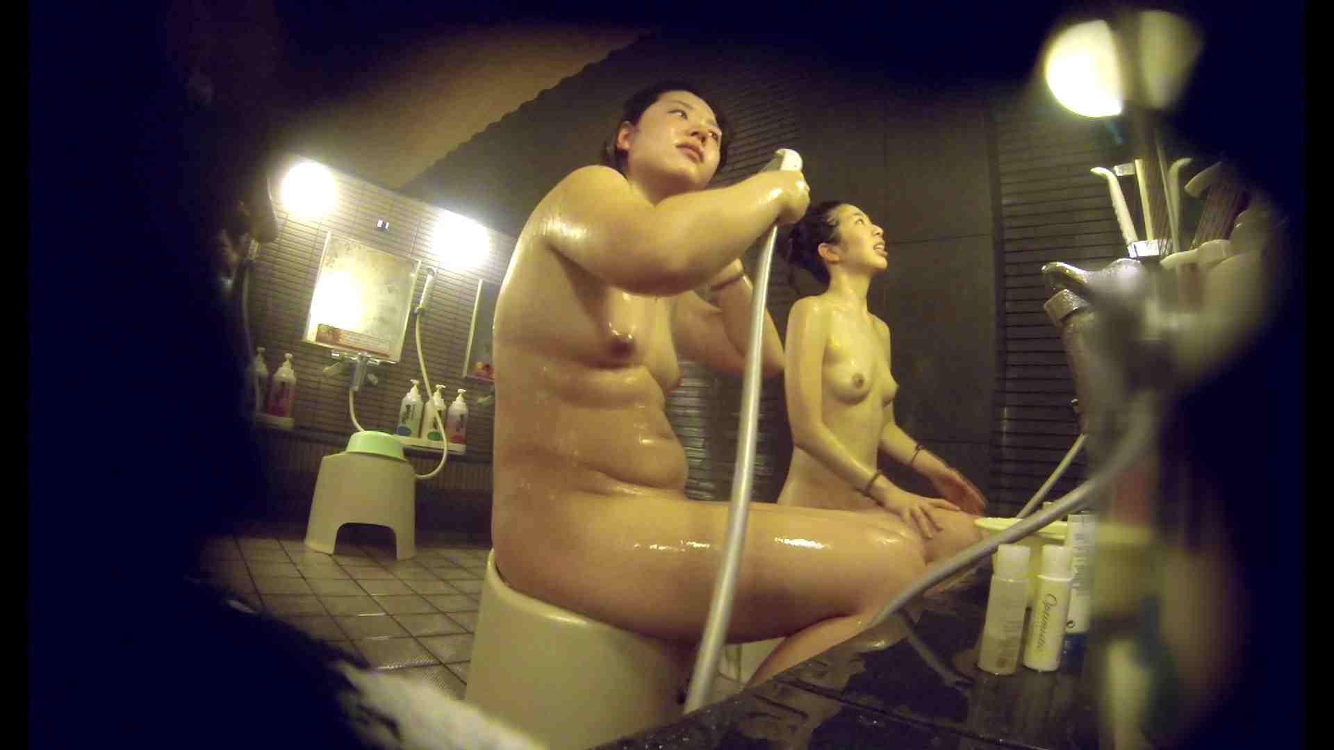 洗い場!んーーー残念なボディです。痩せれば抱けるかも? 潜入 | 銭湯  38pic 23