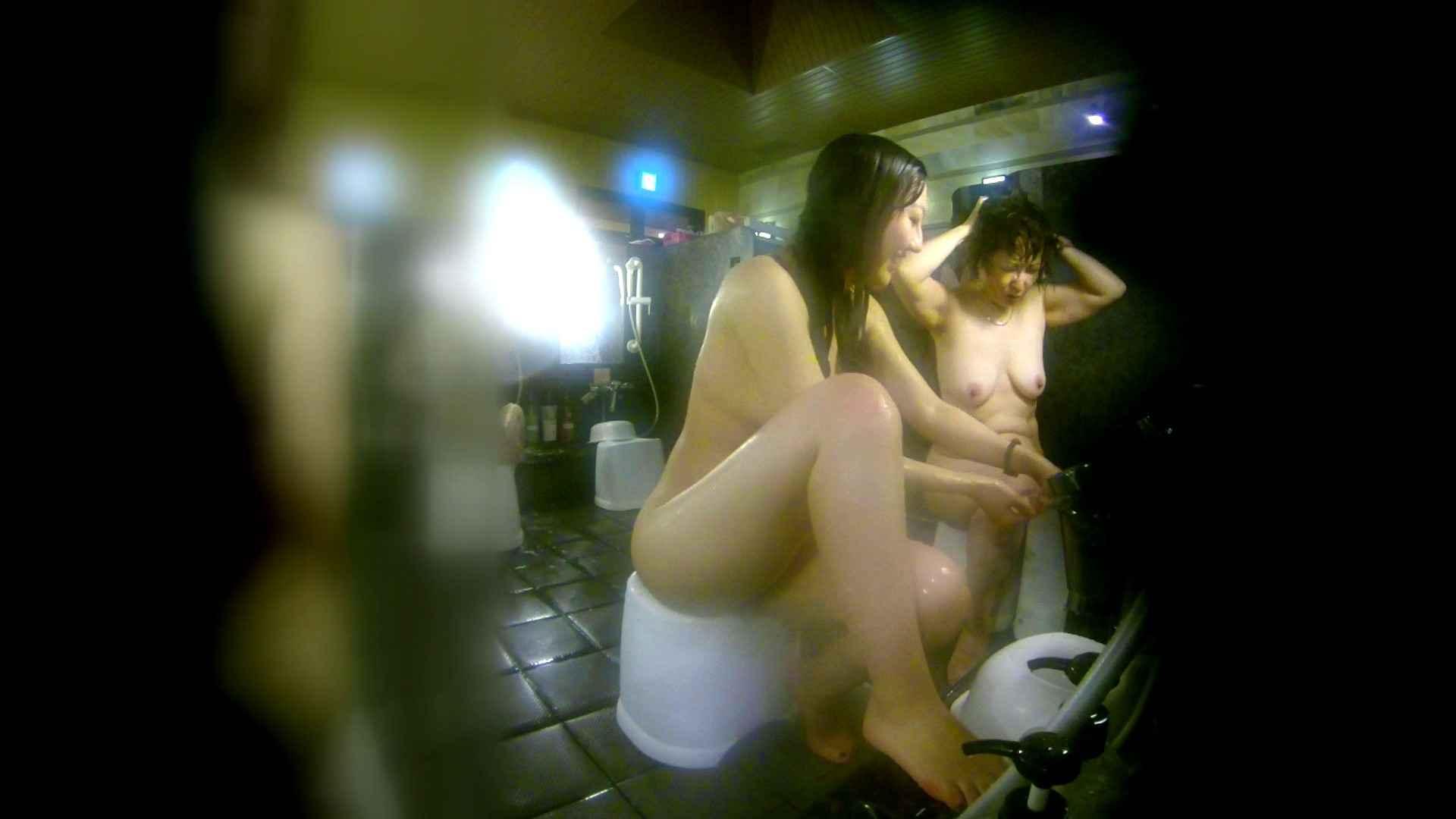 洗い場!右足の位置がいいですね。陰毛もっさり! 銭湯  58pic 12