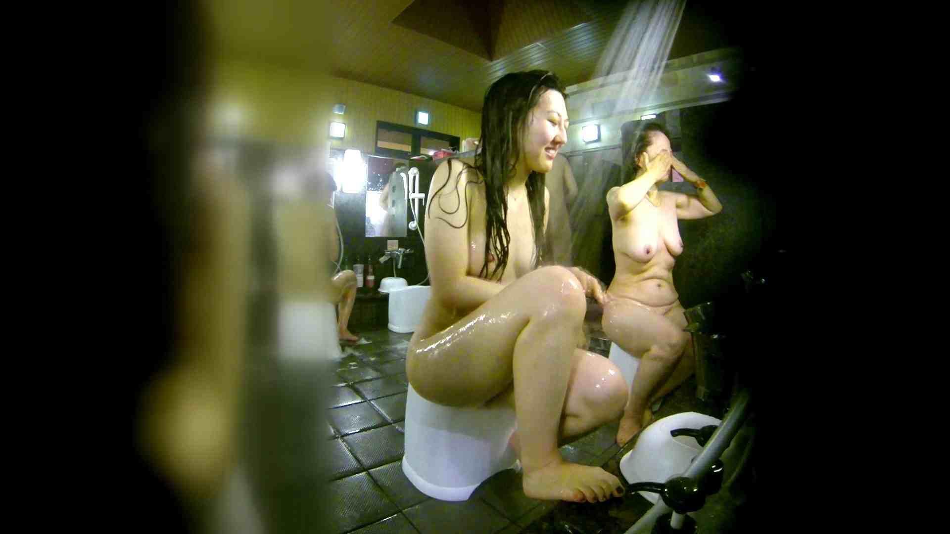 洗い場!右足の位置がいいですね。陰毛もっさり! 銭湯  58pic 20