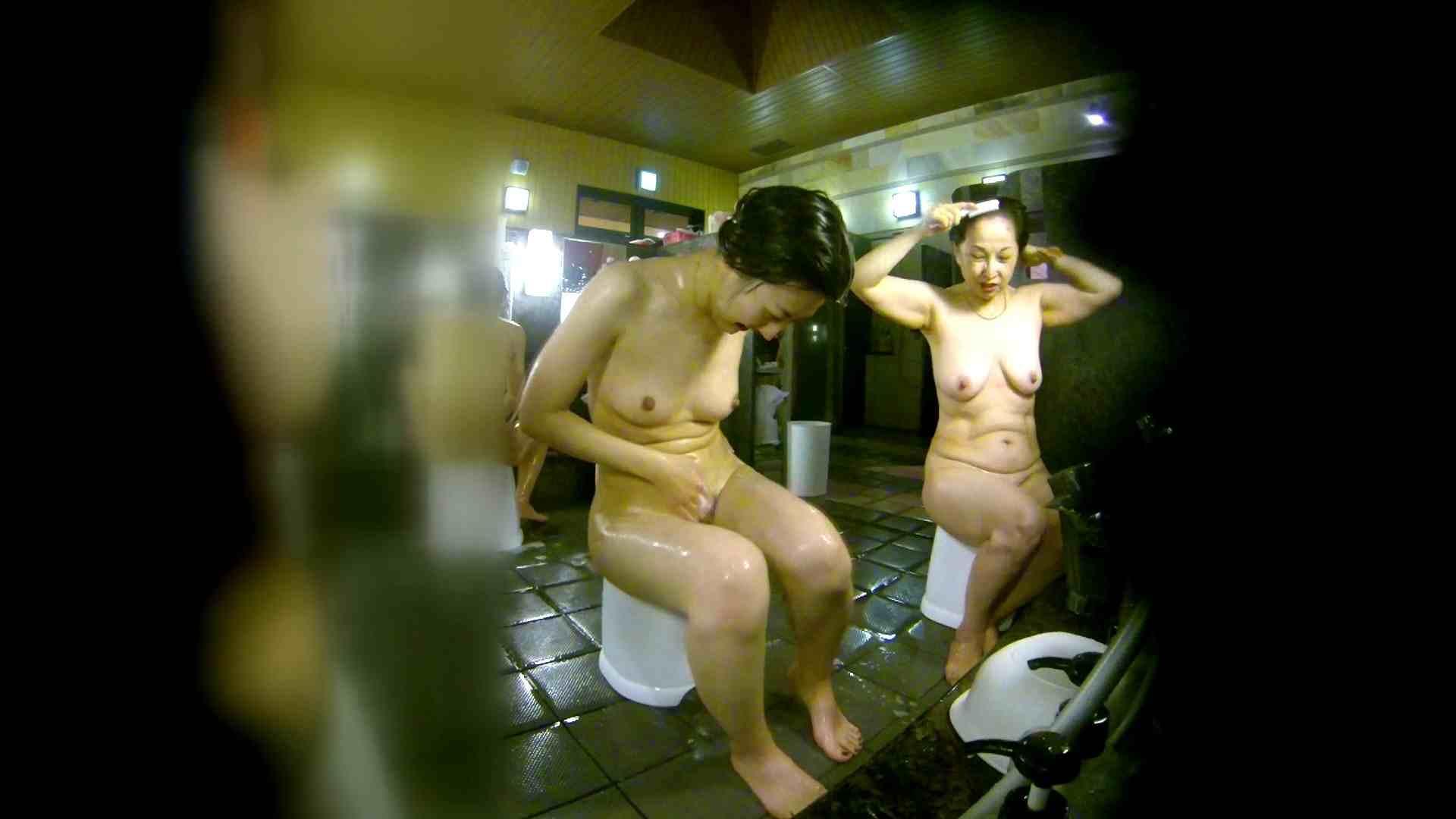洗い場!右足の位置がいいですね。陰毛もっさり! 銭湯   潜入  58pic 25