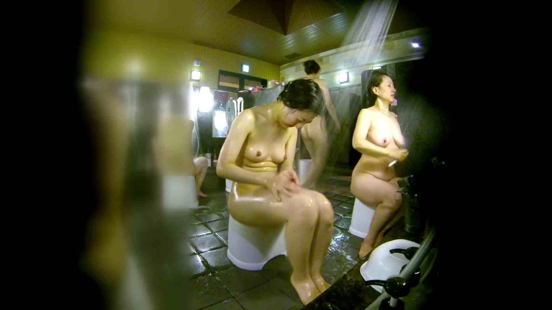 洗い場!右足の位置がいいですね。陰毛もっさり! 銭湯  58pic 28