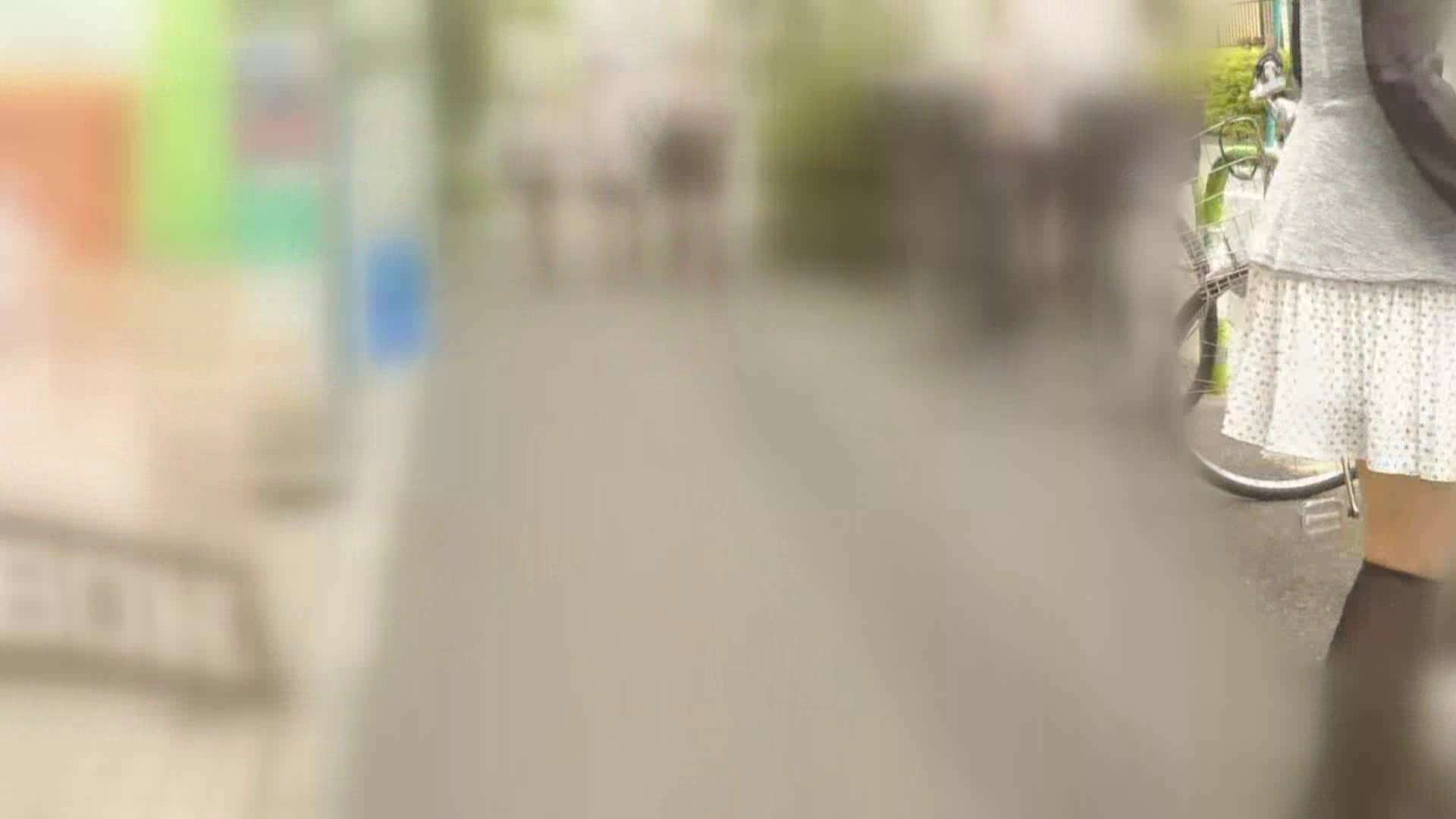 自転車パンチラ Vol.06 車 SEX無修正画像 86pic 4