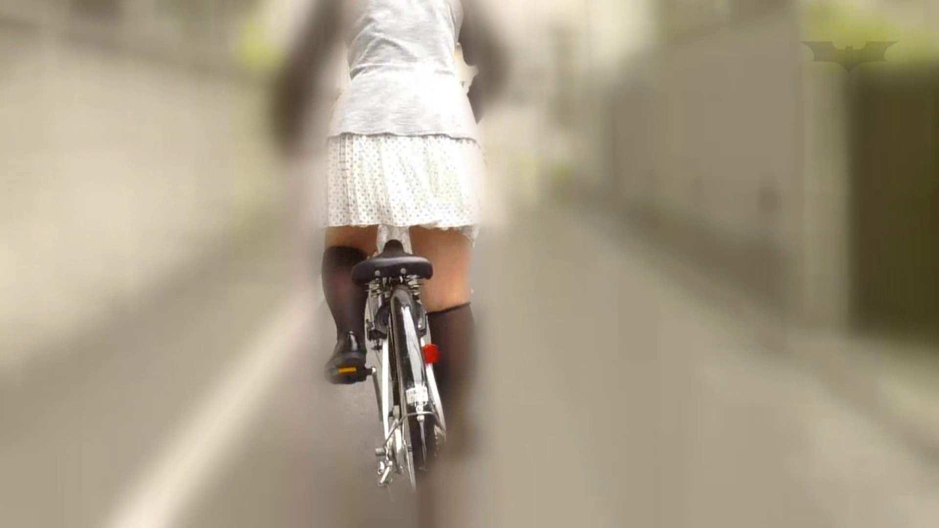 自転車パンチラ Vol.06 車 SEX無修正画像 86pic 34