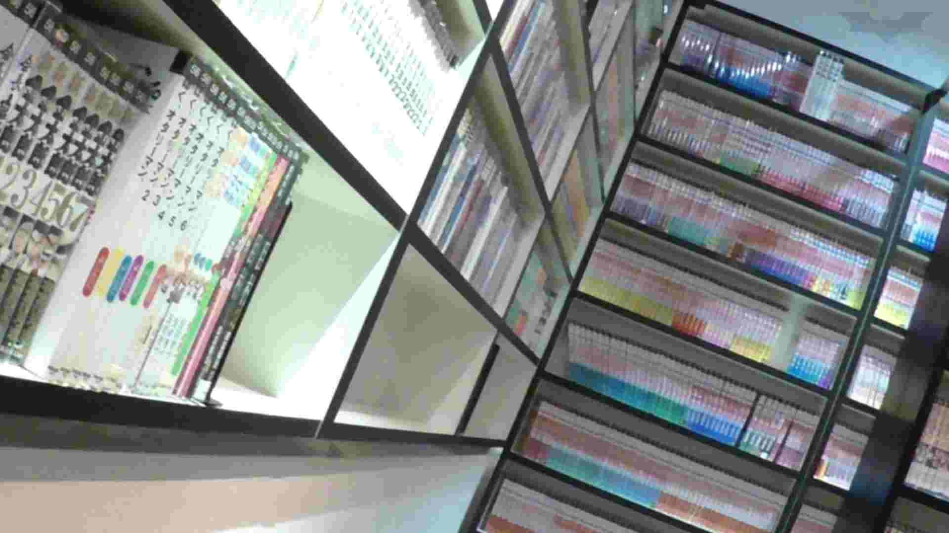 悪戯ネットカフェ Vol.04 タンポンチェンジ!!見っちゃいました。 イタズラ 覗きオメコ動画キャプチャ 22pic 4
