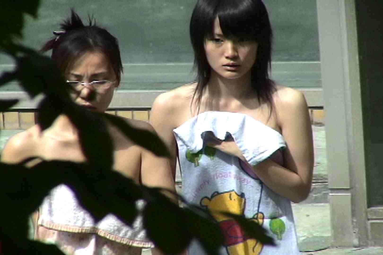 No.20 薄めの陰毛にズーム 美女 | 潜伏露天風呂  93pic 3