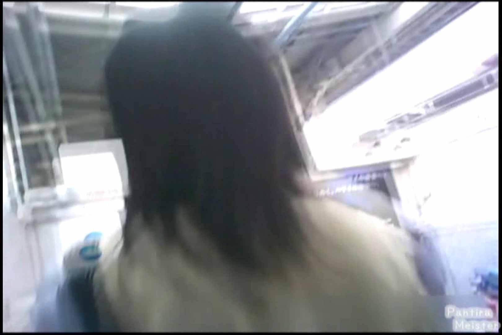 オリジナルパンチラNO.02通勤電車内、背中まで丸見え!! チラ | 丸見え  90pic 21