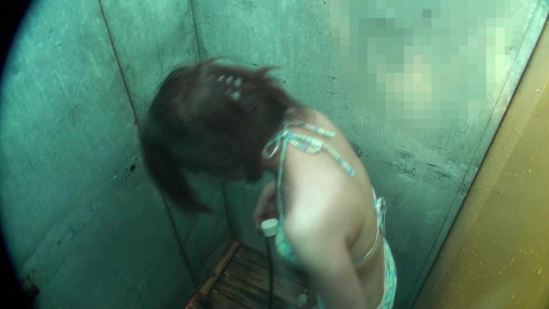 シャワールームは超!!危険な香りVol.15 残念ですが乳首未確認 マンコの砂は入念に シャワー | マンコ  41pic 1
