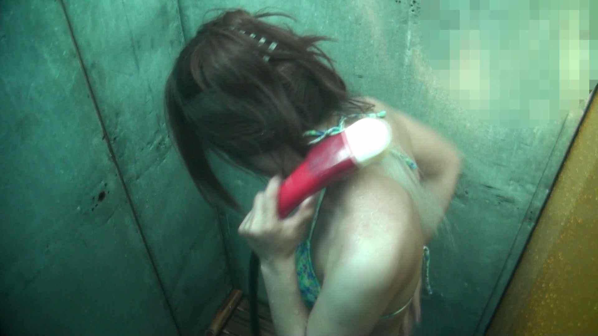 シャワールームは超!!危険な香りVol.15 残念ですが乳首未確認 マンコの砂は入念に シャワー | マンコ  41pic 11
