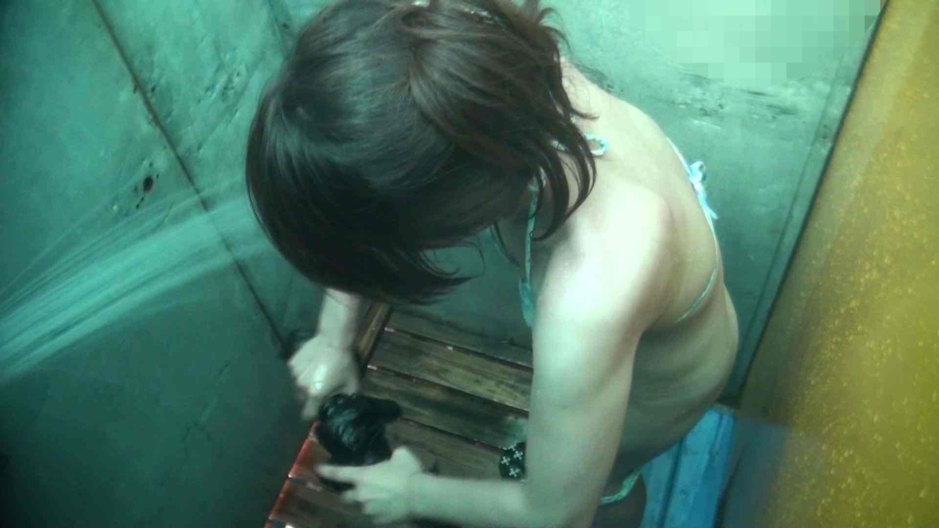 シャワールームは超!!危険な香りVol.15 残念ですが乳首未確認 マンコの砂は入念に シャワー  41pic 35